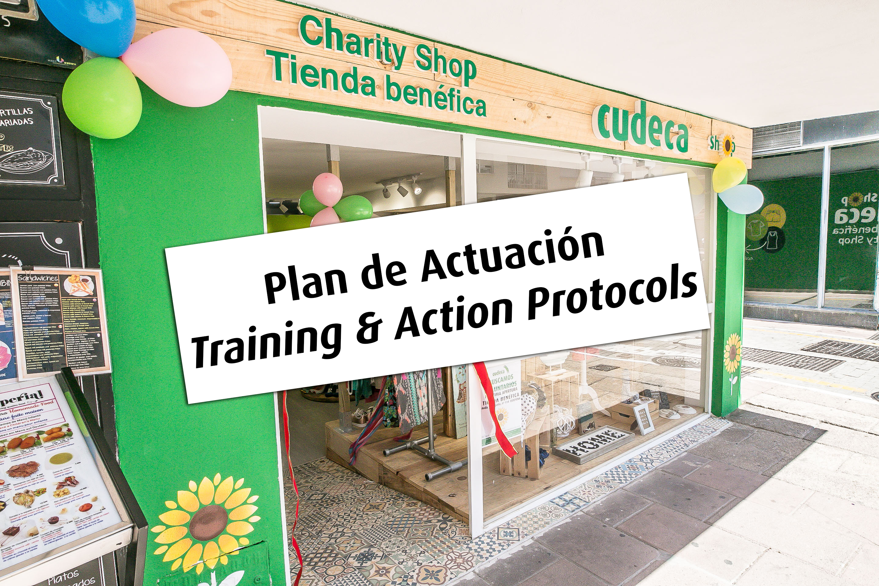 Training & Action Protocols for Cudeca Shops