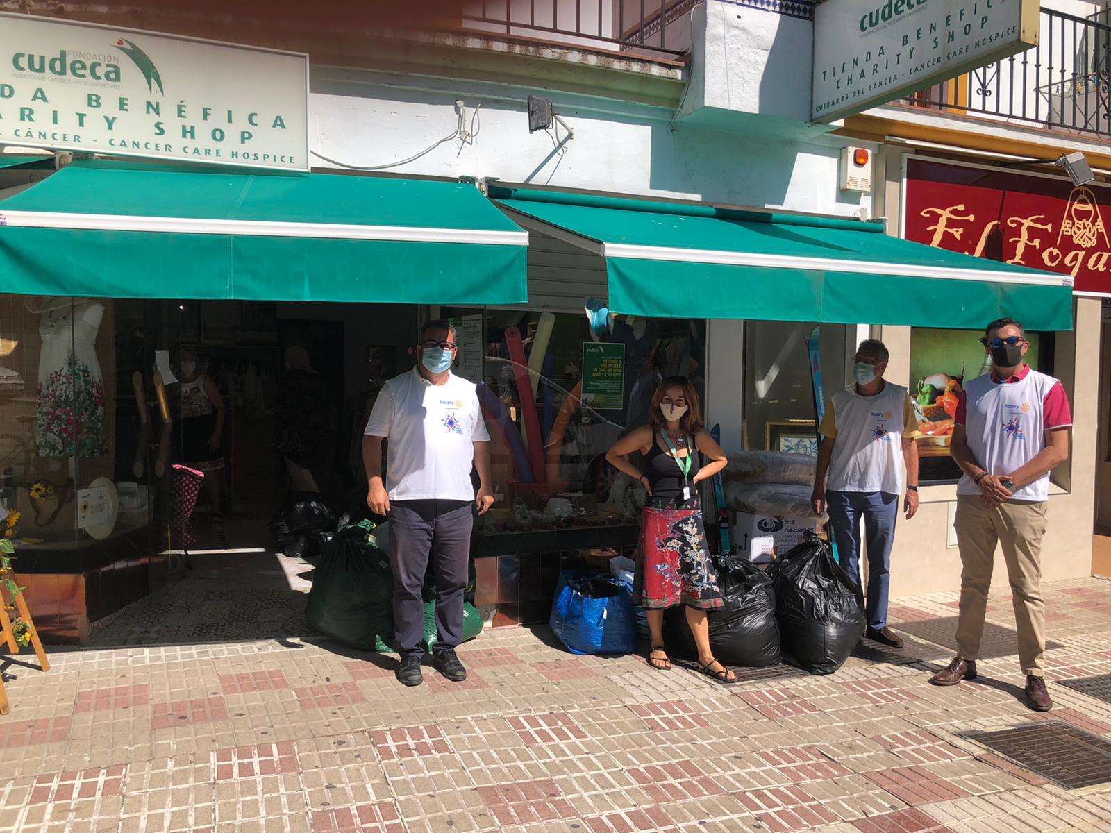 Donación Solidaria de Rotary Club Estepona