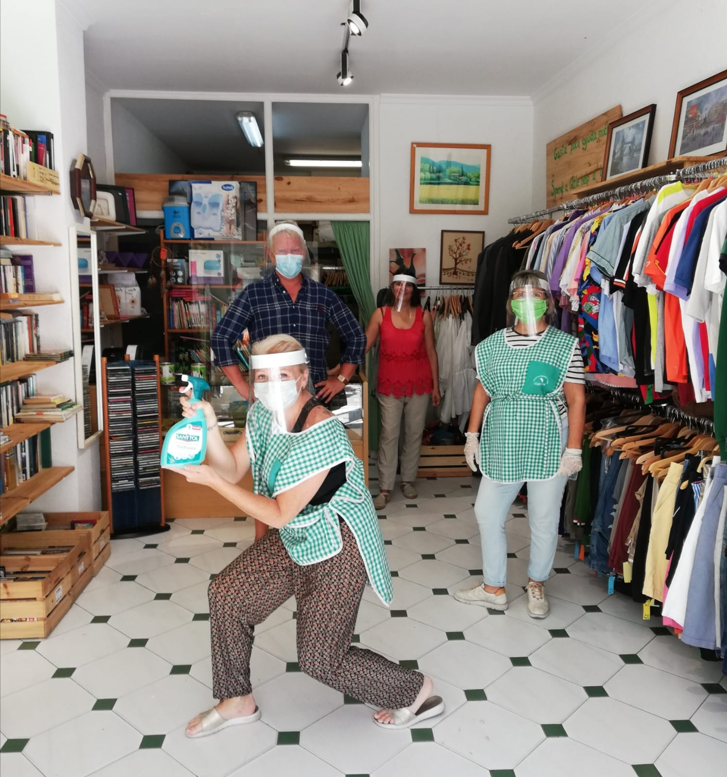 Volunteering in our Charity Shops