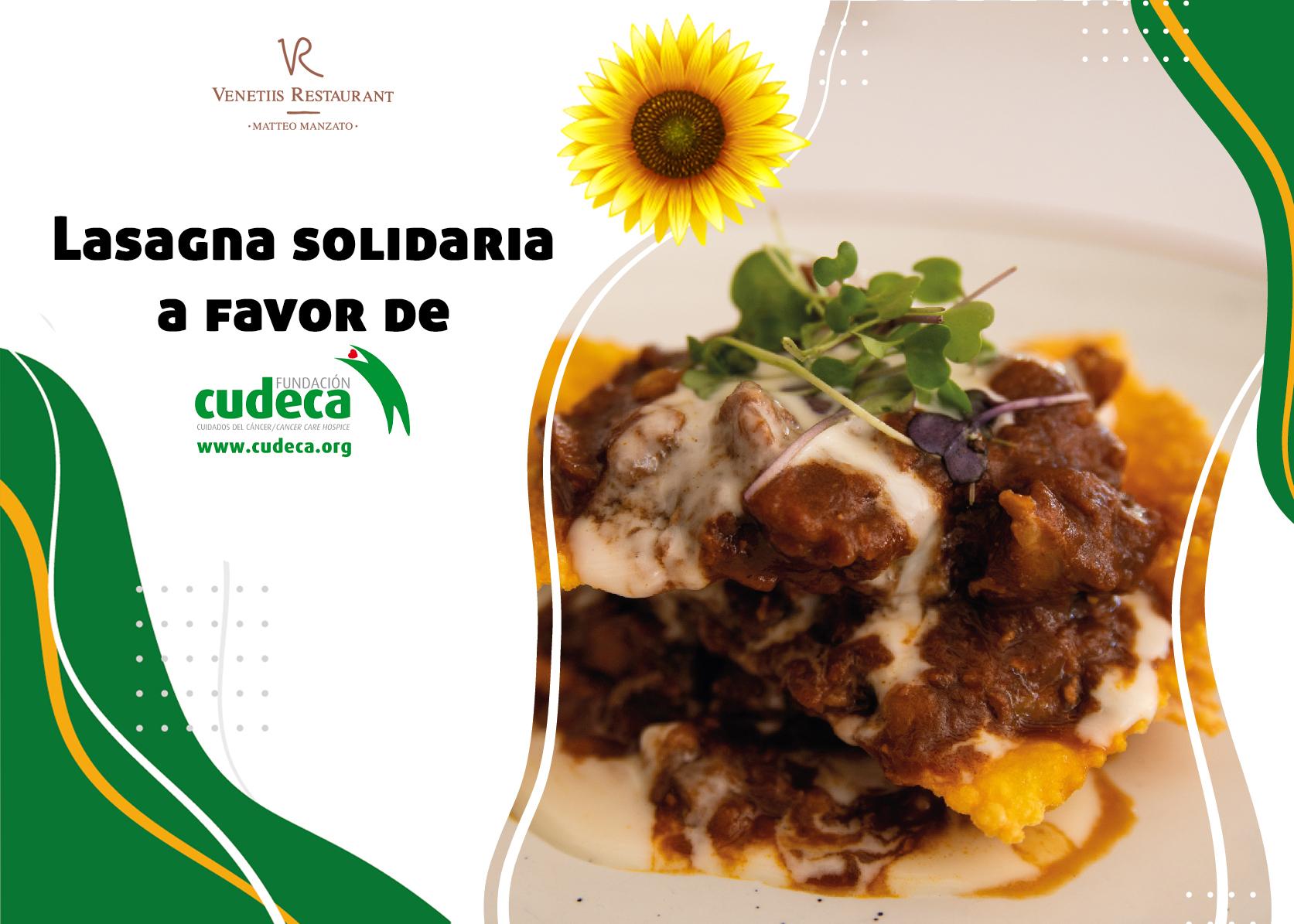 Lasagna Solidaria Venetiis Restaurant
