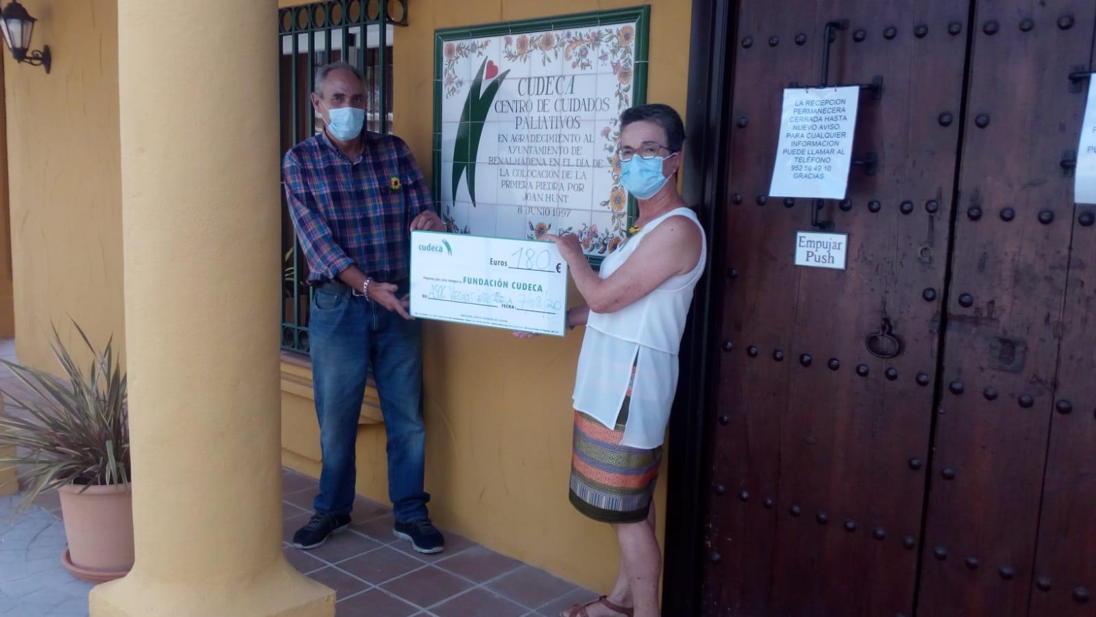 Donación de la Asociación de Vecinas y Vecinos del Cerro del Águila