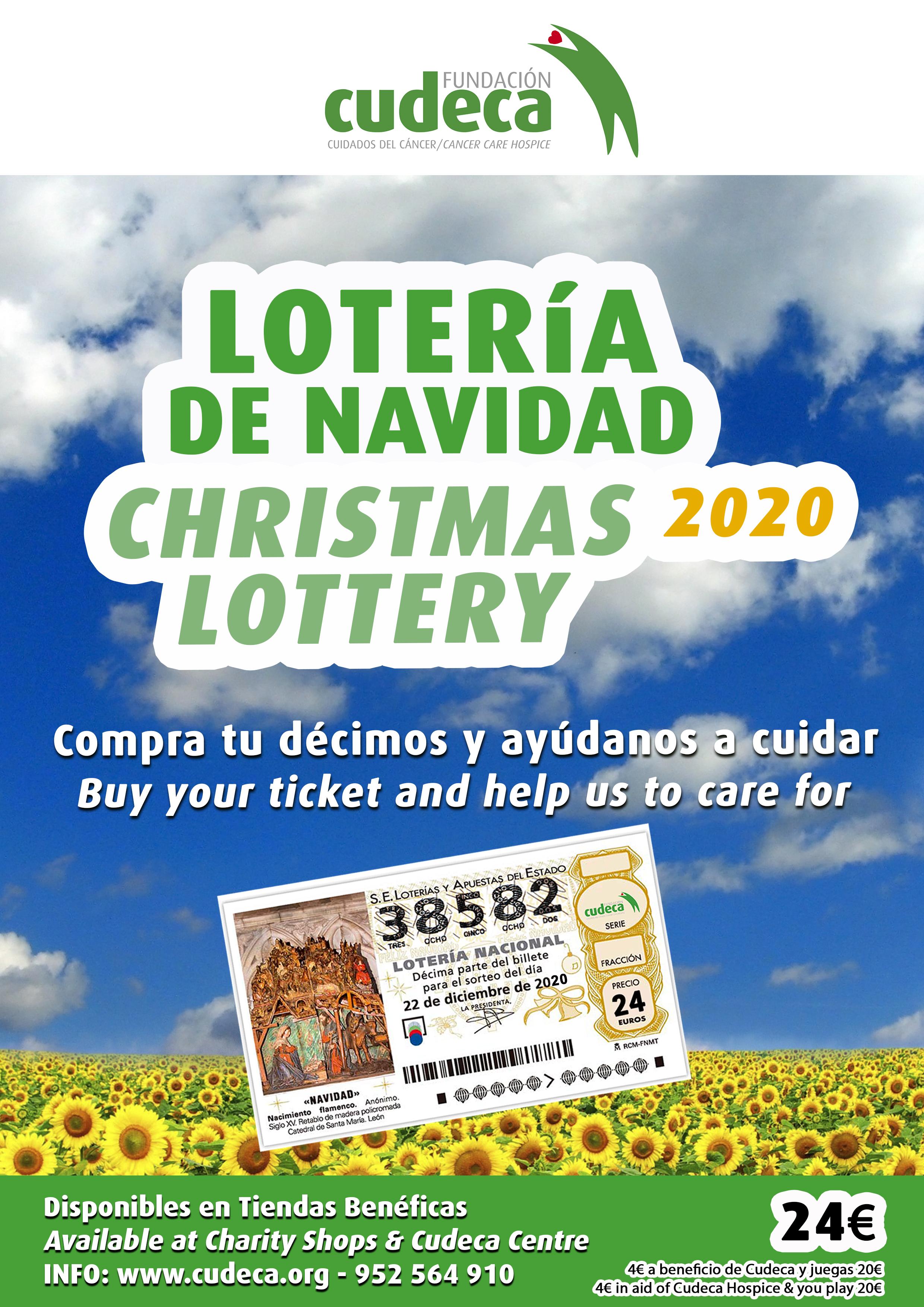 Loteria de Navidad de CUDECA