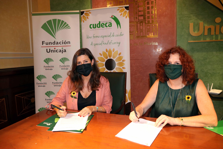 Fundación Unicaja apoya nuestra labor y la Unidad de Atención Domiciliaria