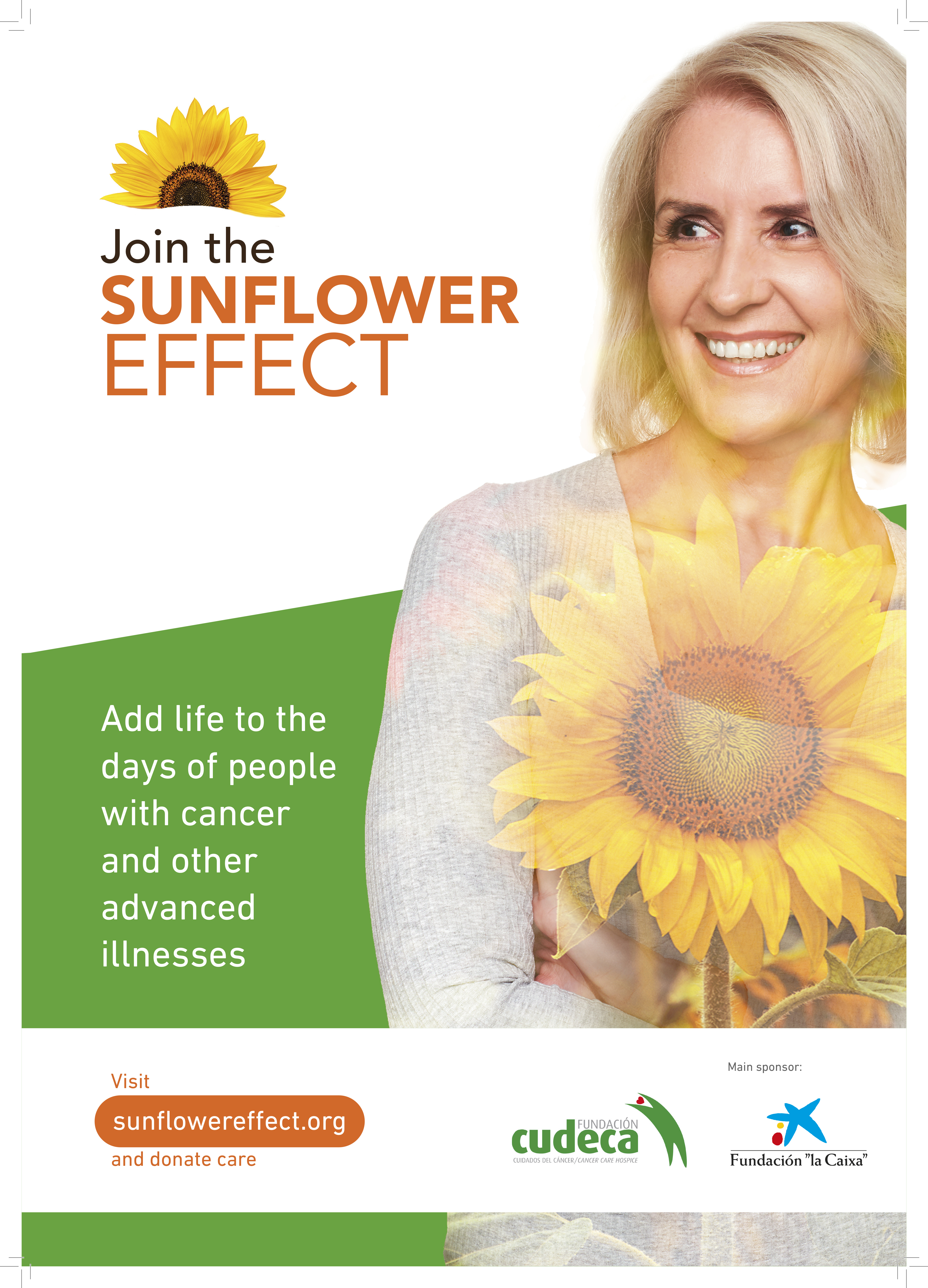 """We have launched our """"Sunflower Effect"""" campaign to maintain a multidisciplinary Home Care team"""