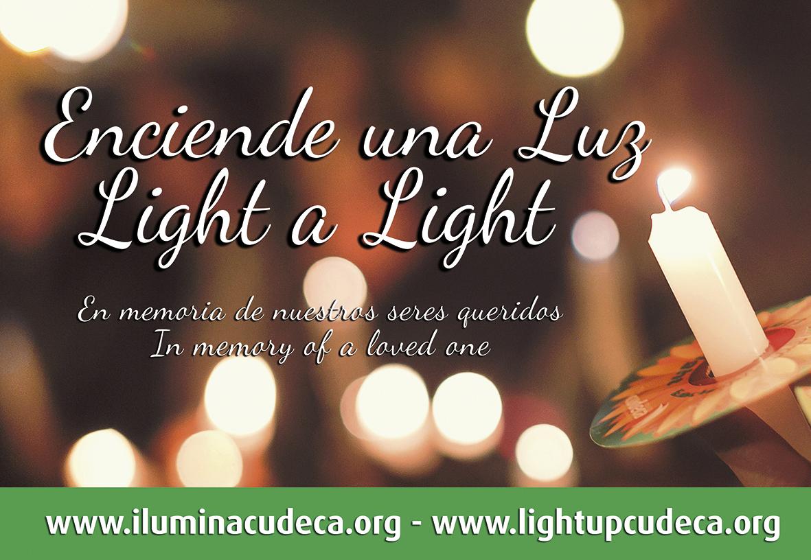 «Enciende una Luz» en memoria de un ser querido