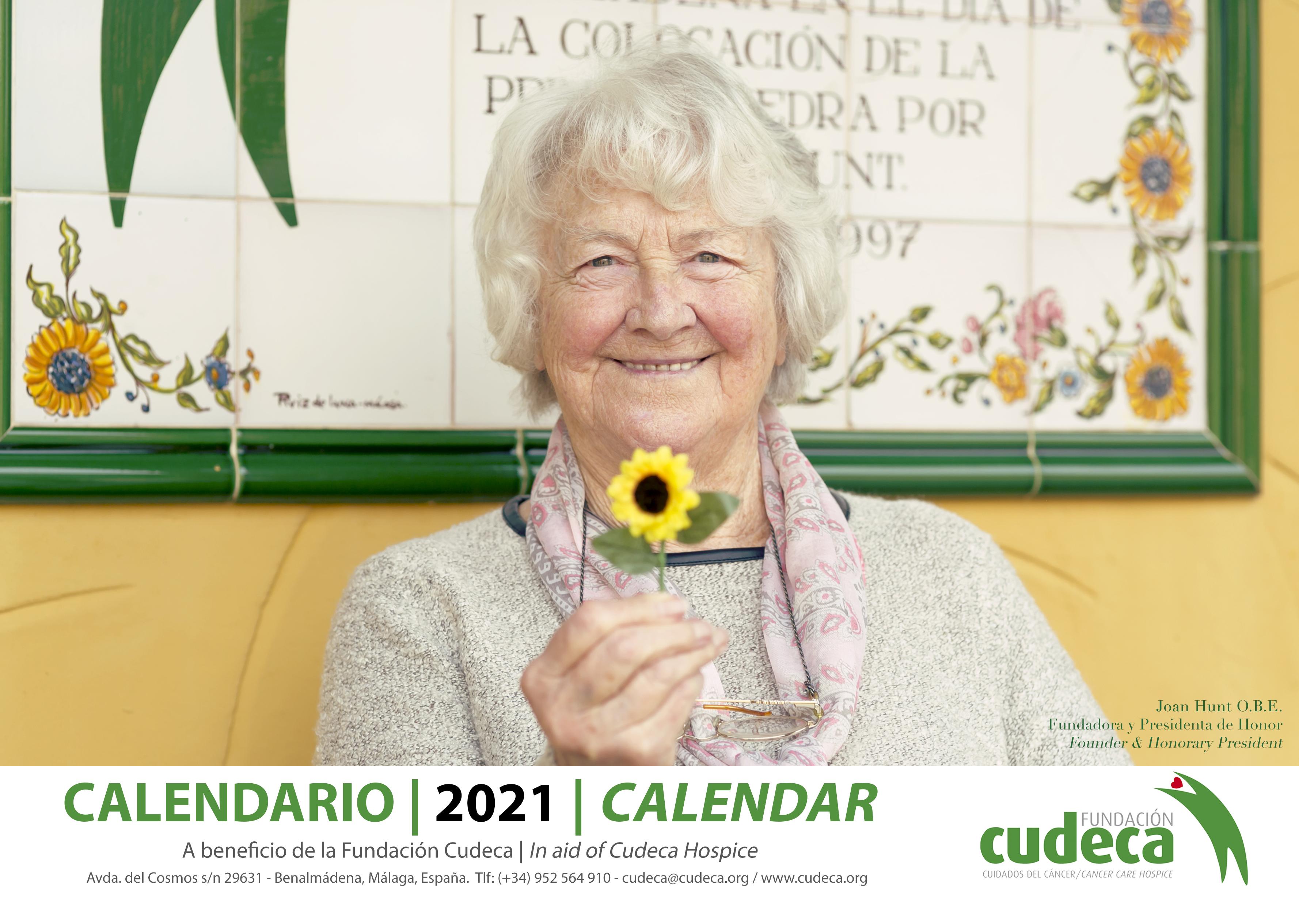 Cudeca Hopice Solidarity Calendar 2021