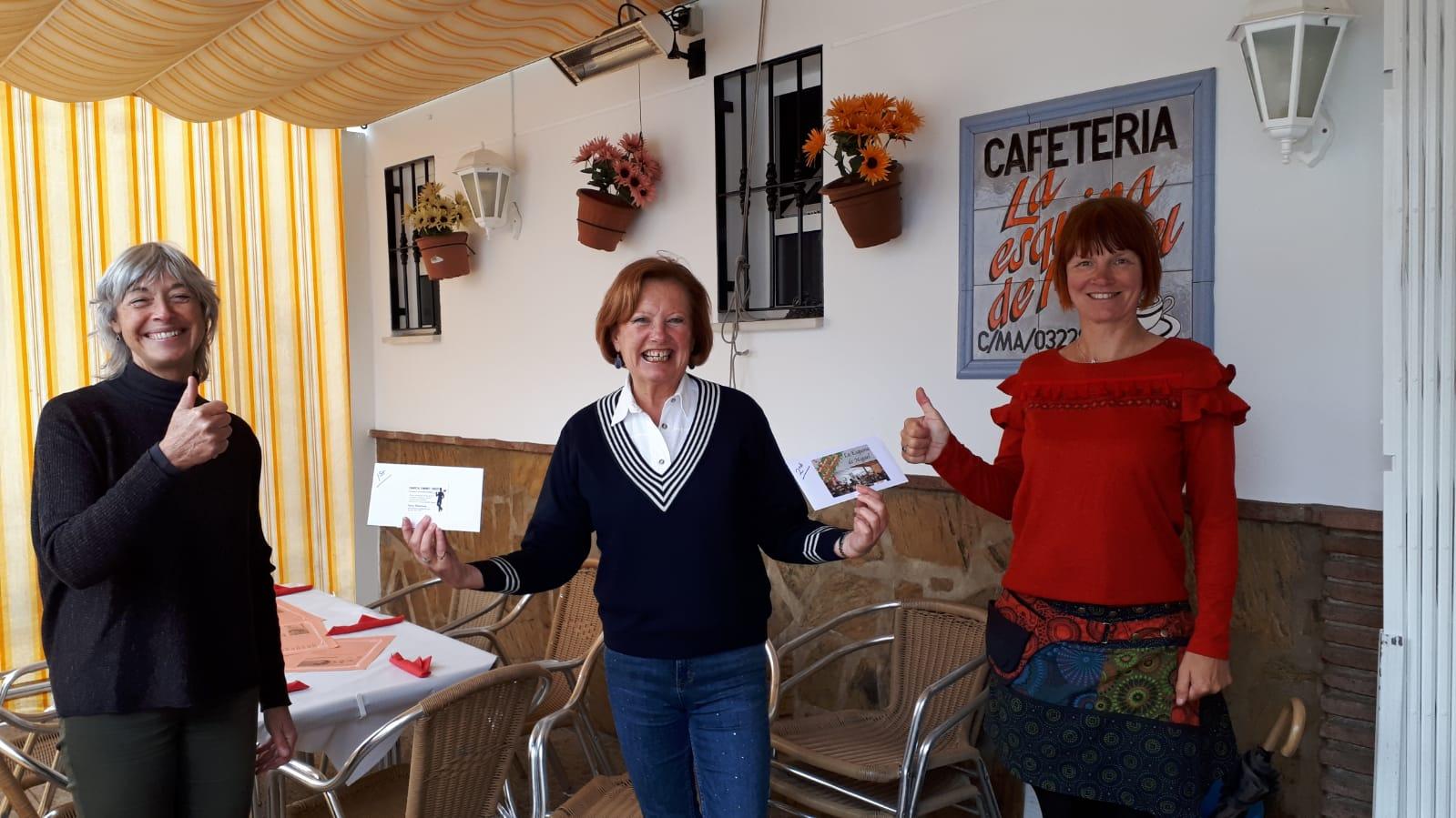 Cómpeta record strike fundraising at their Christmas Market!