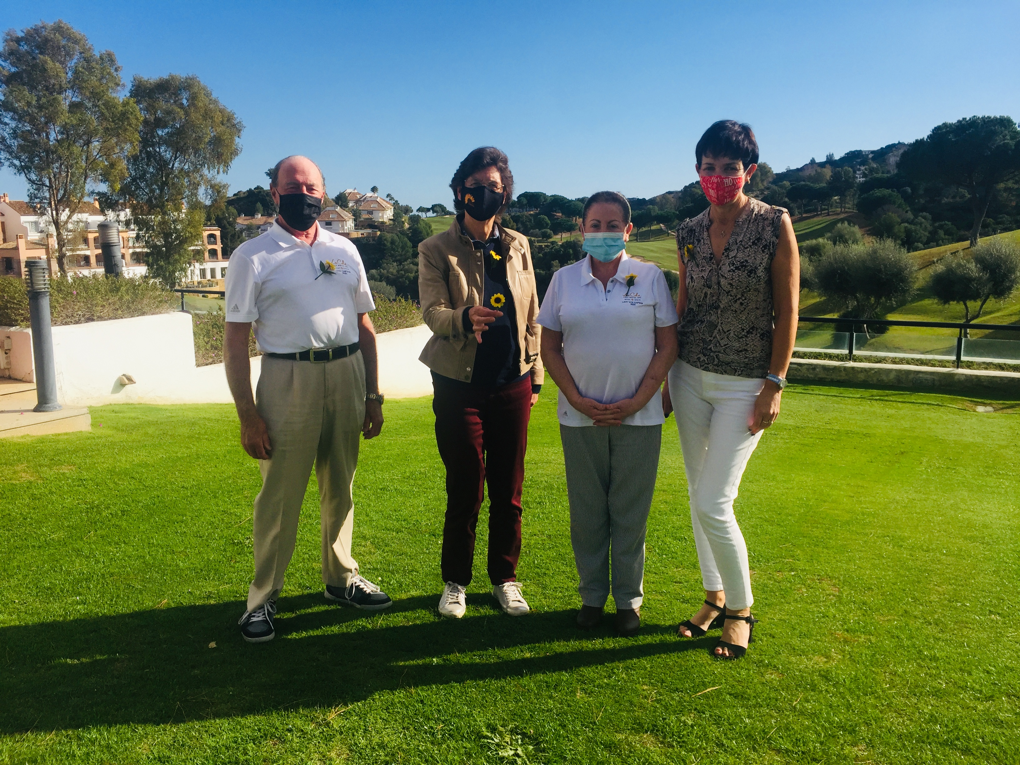 La Cala Golf Members joining up our Sunflower Effect campaign!