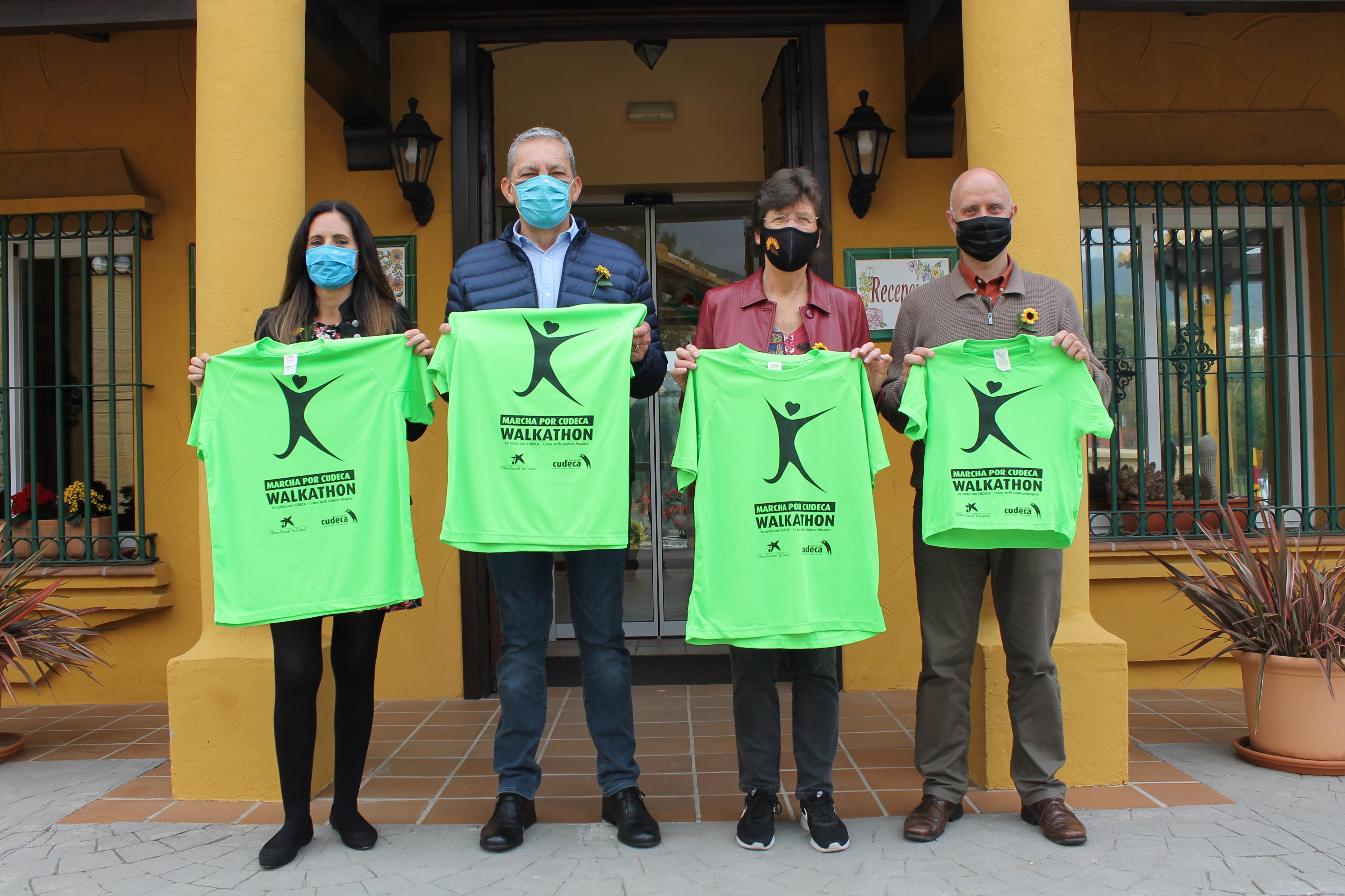 Fundación CLC World, patrocinador de la Marcha desde casa por Cudeca