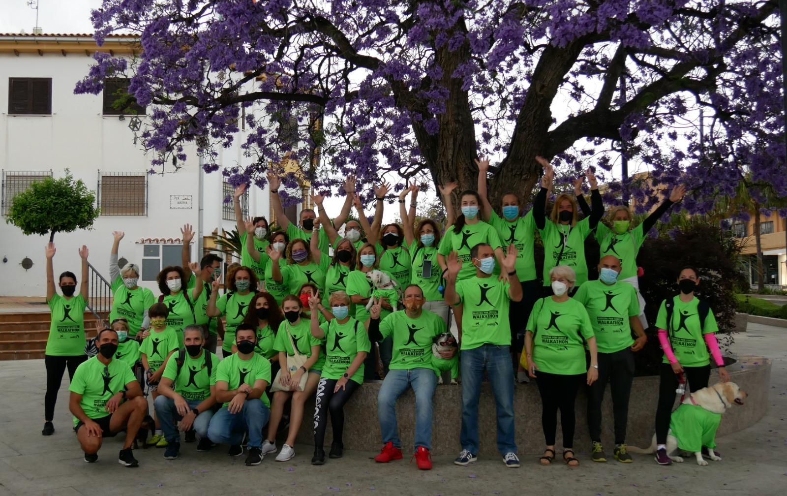 """Más de 1.100 participantes en la Marcha desde casa por Cudeca """"Walkahome"""""""