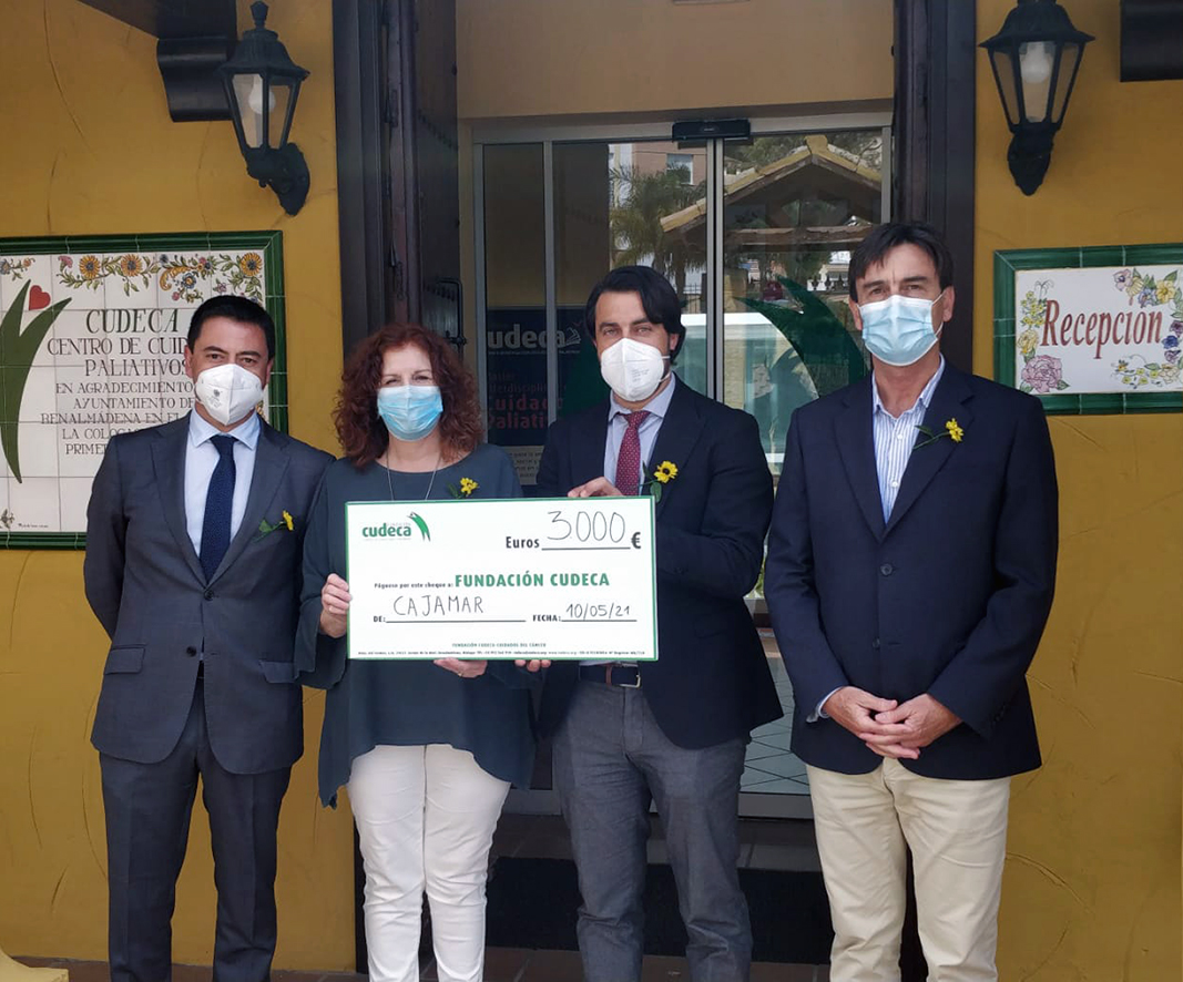 Visit from Cajamar bank