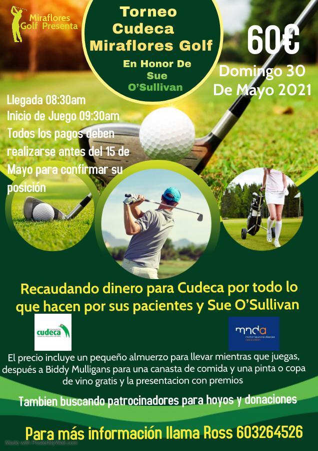 I Torneo Cudeca Miraflores Golf en honor de Sue O´Sullivan