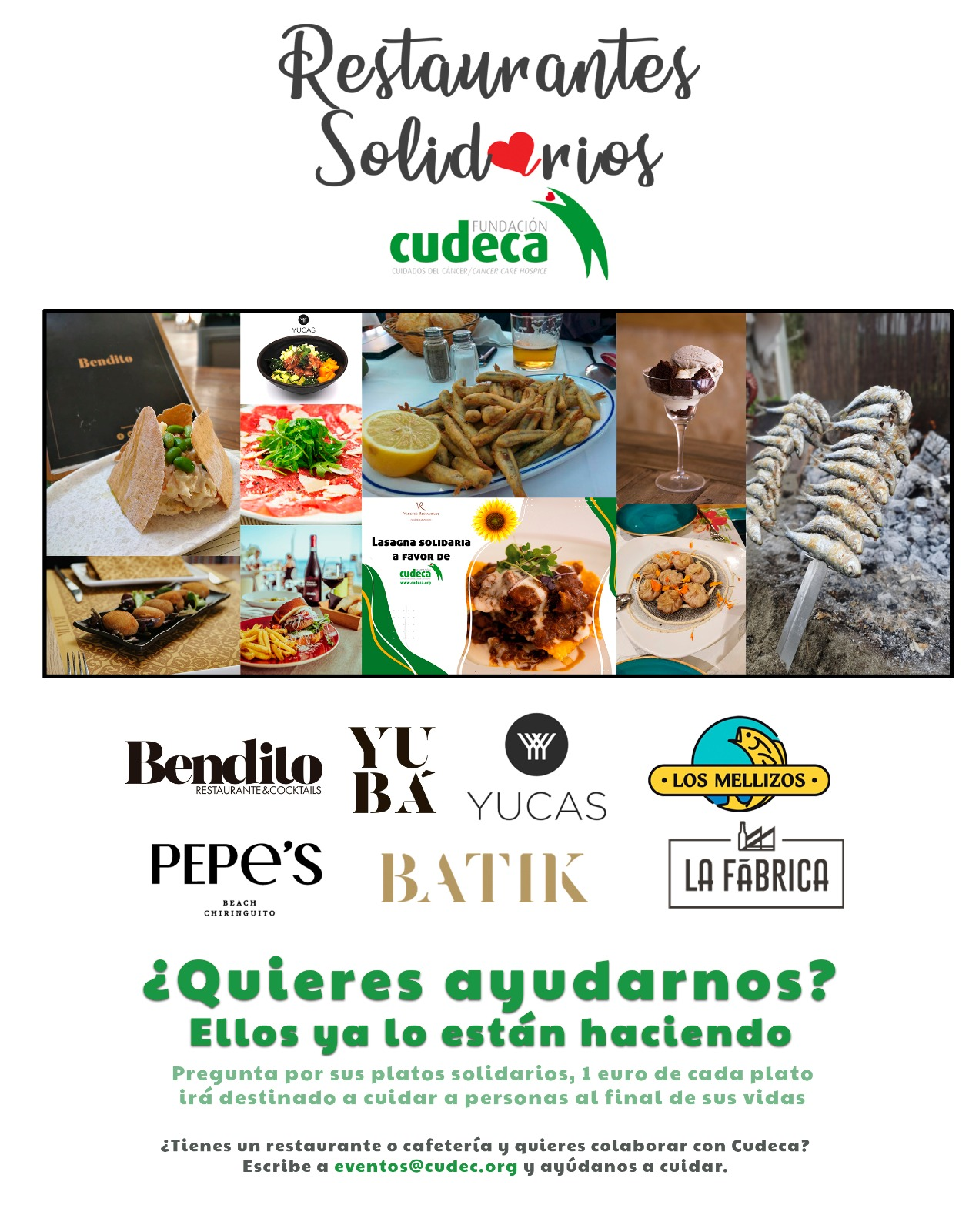 Join up our restaurants in Solidarity Campaign!