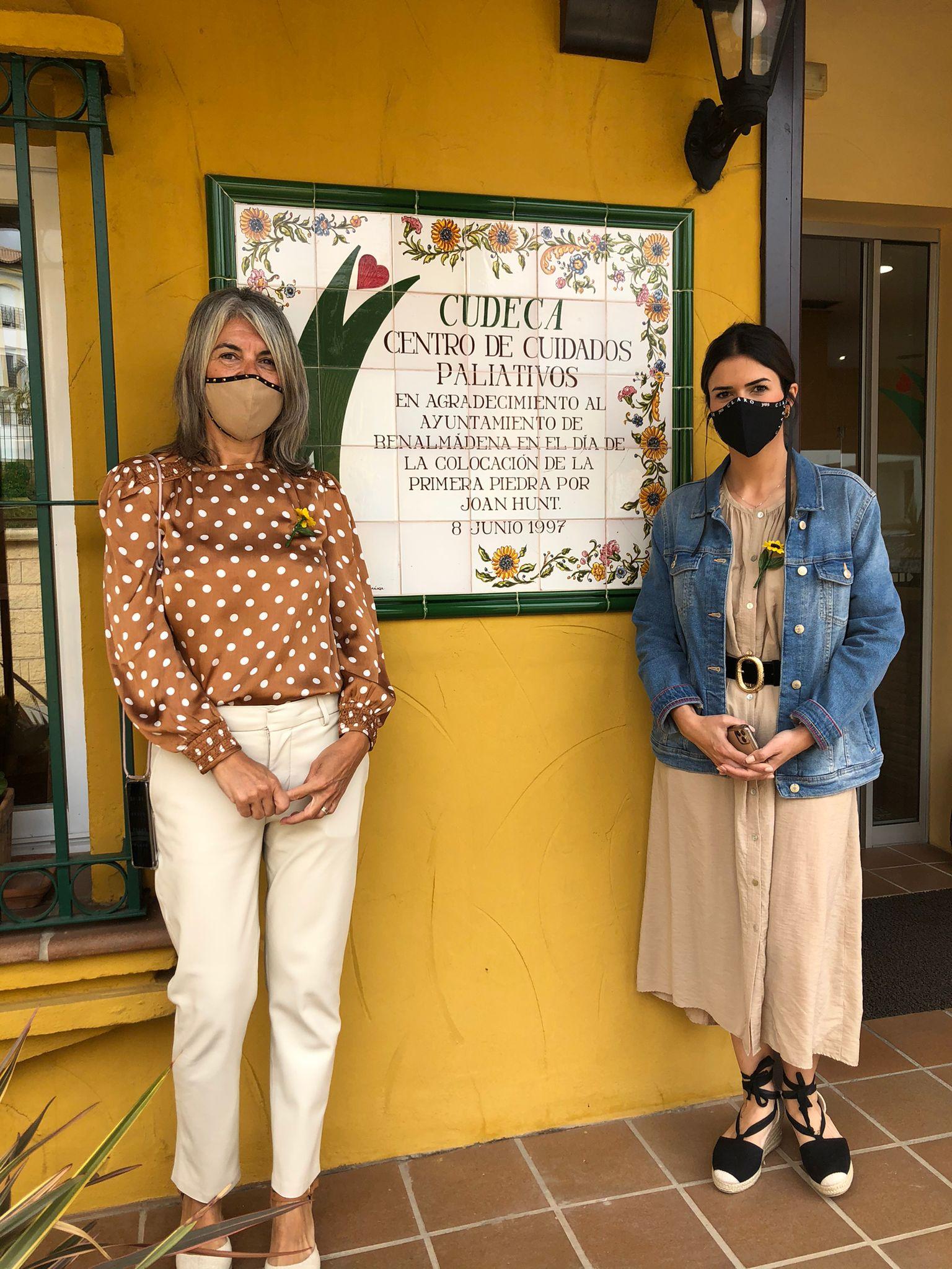 Visita de Lucía Cuín, concejala de Torremolinos, a nuestro centro Cudeca