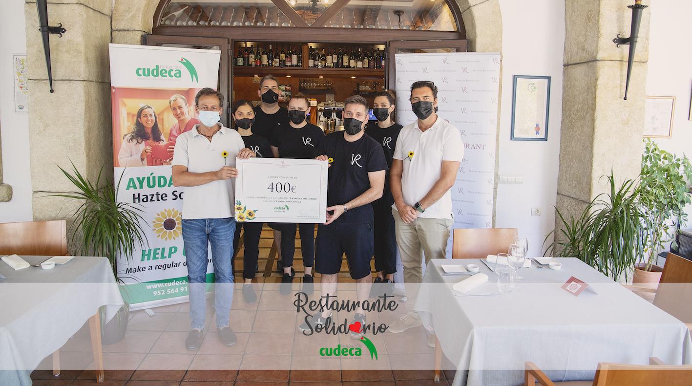 Venetiis Restaurant- Matteo Manzato in aid of Cudeca