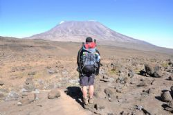 Scott Thomson, climbed the Mountain Kilimanjaro in aid of Cudeca Cancer Care Hospice